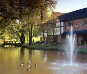 The Mill Hotel in Alveley, Shropshire, England