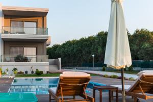 Niovi Seaside Suites, Apartmány  Kissamos - big - 13