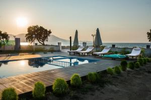 Niovi Seaside Suites, Apartmány  Kissamos - big - 73