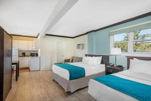 Efficiency Double Room with Two Double Beds and Sofa Bed - Non-Smoking