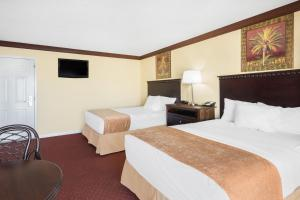 Efficiency Double Room with Two Double Beds - Non-Smoking