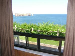 Two Double Beds Suite with Sea View