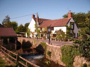 The White Horse Inn in Washford, Somerset, England