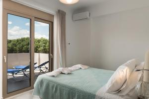 Niovi Seaside Suites, Apartmány  Kissamos - big - 44