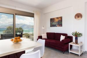 Niovi Seaside Suites, Apartmány  Kissamos - big - 52