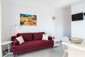 Niovi Seaside Suites, Apartmány  Kissamos - big - 64