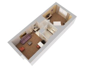 1 Bedroom Suite with King Bed - Non-Smoking