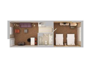 1 Bedroom Suite with Two Queen Beds -Non-Smoking