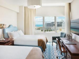 Double Room with Partial Ocean View