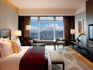 Quarto Club Deluxe Victoria Harbour com Cama King-size