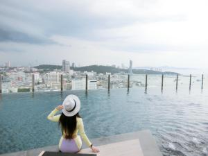 The Base by Lin, Appartamenti  Pattaya centrale - big - 39
