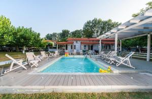 Camping Valti Houses, Apartments  Sarti - big - 13