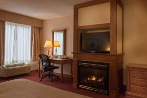 Queen Room with Fireplace - Non smoking