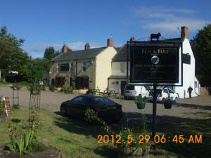 The Black Bull Inn in Lowick, Northumberland, England