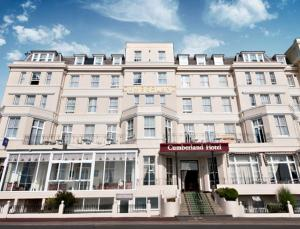 The Cumberland Hotel in Eastbourne, East Sussex, England