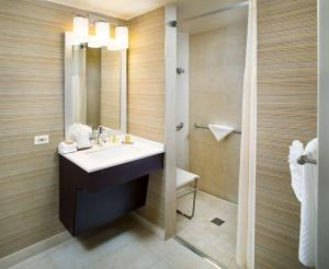 King Room Mobility Access w/ Roll-In Shower Non-Smoking