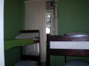 Bed in 4-Bed Male Dormitory Room with AC