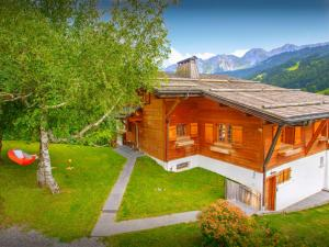 Fleur des Neiges Grand Bornand, Chalets  Le Grand-Bornand - big - 5