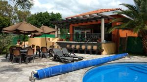 Casa en Hamacas-Ajijic, Дома для отпуска  Ajijic - big - 3