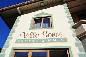 Frühstückspension Villa Sonne: pension in Gerlos im Zillertal - Pensionhotel - Guesthouses