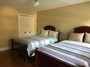 Room with Two Double Beds and Shared Bathroom