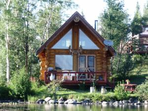 Two-Bedroom Waterfront Cabin