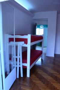 Bed in 6-Bed Mixed Dormitory Room with Balcony