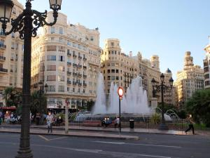 City Hall Square - Wolf, Apartmanok  Valencia - big - 31