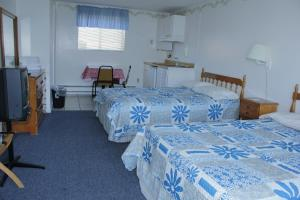Double Room with Two Queen Beds and Kitchenette