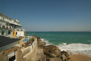 Pedn-Olva Hotel in St Ives, Cornwall, England