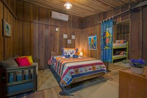 Chalet (2 Adults) with room annex (4 adults)