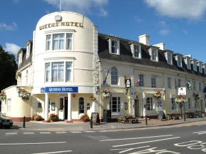 Best Western Queens Hotel in Newton Abbot, Devon, England