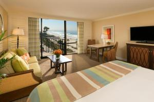King Cabana with Partial Ocean View