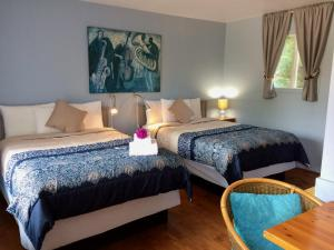 Small Double Room with Two Double Beds