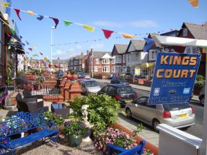 The Kings Court Hotel in Blackpool, Lancashire, England