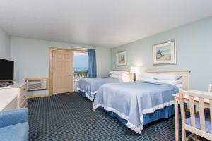 Double Room with Two Double Beds - Ocean Front/Non-Smoking