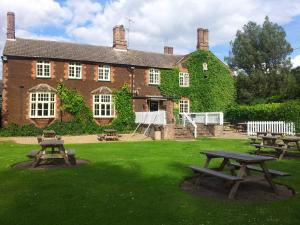 The Feathers Hotel in Dersingham, Norfolk, England