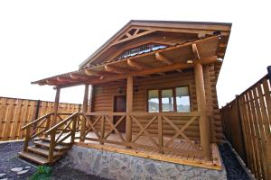 Canadian Log House, Villas  Bakuriani - big - 22