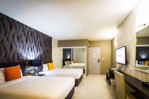 PM Residence, Hotel  Hat Yai - big - 17