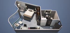 Junior Suite - 2 volwassenen en 1 kind (Gratis WiFi)