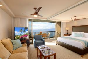 Premier One-Bedroom Apartment with Ocean View and Balcony