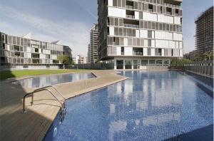 Superior Four-Bedroom Apartment with Pool View (8 Adults)