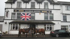 The George Hotel in Orton, Cumbria, England