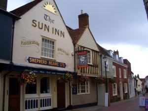 The Sun Inn in Faversham, Kent, England