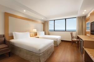 Twin Room with Front Ocean View