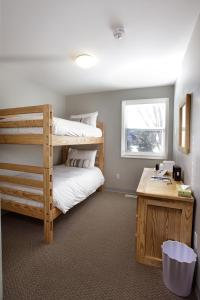 Room with Bunk Bed and Shared Bathroom