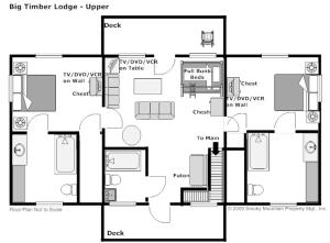 Eight-Bedroom Holiday Home