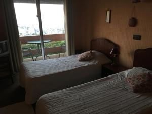 Superior Twin Room with Sea and City View