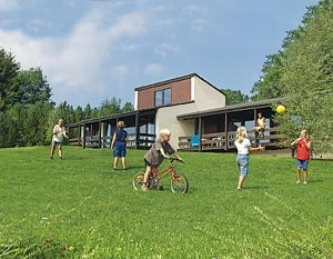 Vallee de Rabais, Holiday parks  Virton - big - 9