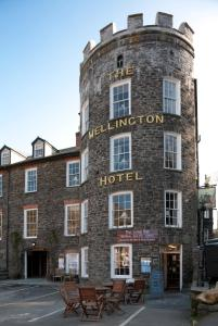 The Wellington Hotel in Boscastle, Cornwall, England